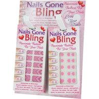 DDI 1471699 Valentine Nail Bling Strips Case Of 72