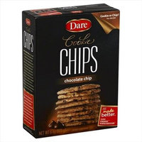 Dare COOKIE CHIPS, CHOC CHIP, (Pack of 12)