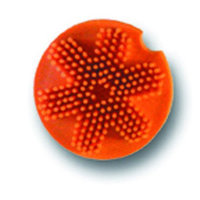 Miracle Animal Legends Miraclecorp Products - Grooma Softtouch Massage Brush- Orange - D713
