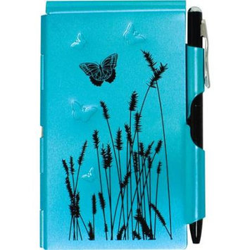 Wellspring Flip Notes Natural Elements Collection- blue butterfly