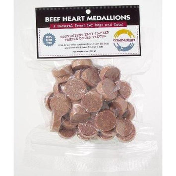 Freeze Dried Beef Heart Medallions - Fresh is Best - dog treat