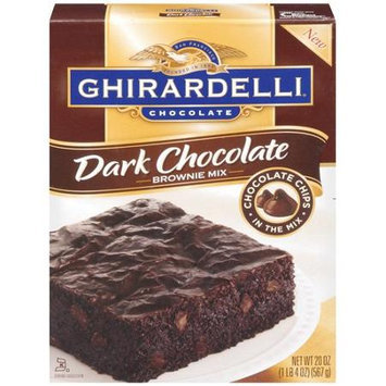 Ghirardelli Double Dark Chocolate Brownie Mix