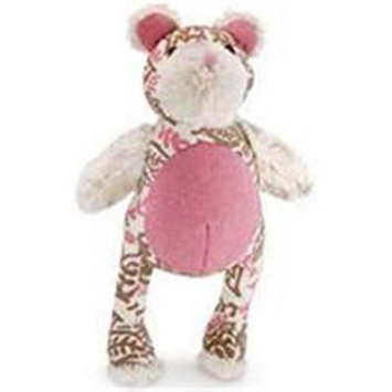 Worldwise Kathy Ireland Loved Ones Durable Bear Dog Toy-Pink