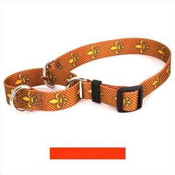 Yellow Dog Design M-ORA103L Solid Orange Martingale Collar - Large