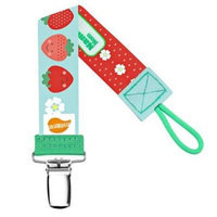 Ulubulu MP-04-99-S-1-029 Expression Strawberry Universal Pacifier Clip Pack Of 7