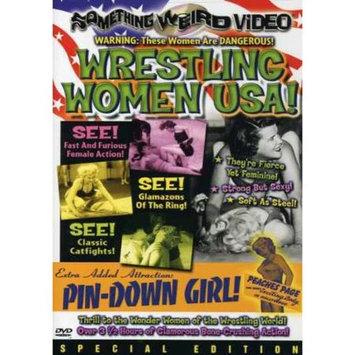 Image Entertainment Wrestling Women U.S.A/Pin-Down Girl(Dvd)