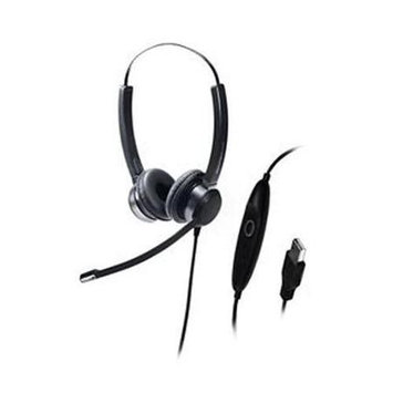 Addasound Crystal SR2822 Headset - Stereo - USB - Wired - Over-the-head - Binaural - Supra-aural