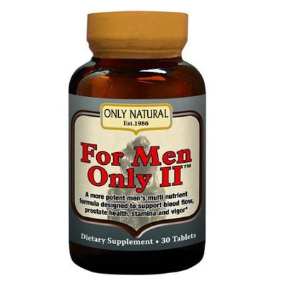 Only Natural For Men Only II 30 tablets