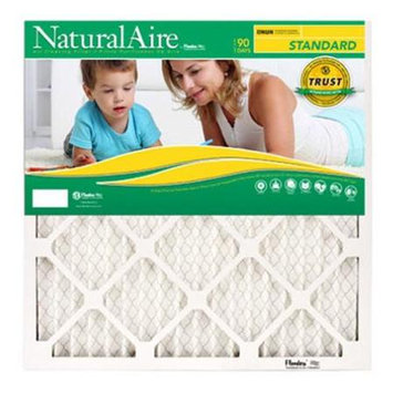 Flanders 84858.011624 16 x 24 x 1 in. NaturalAire Standard Pleated Air Filter - Pack Of 12