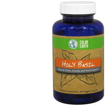 Color Earth - Holy Basil - 60 Capsules