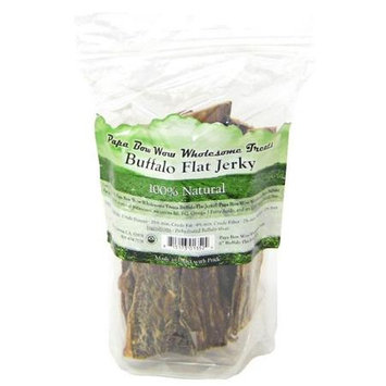 Cadet Papa Bow Wow Wholesome Treats Buffalo Flat Jerky 6