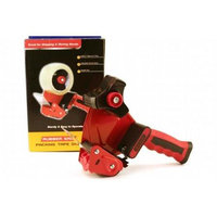 Bazic Products 991-12 Rubber Grip Premium Comfort Packing Tape Dispenser - Pack of 12