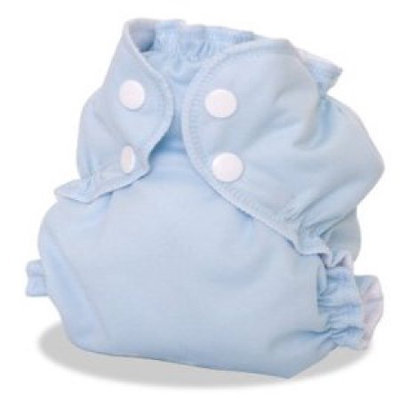 AppleCheeks Little Bundle Set Bamboo (Size 2, Forget Me Not)