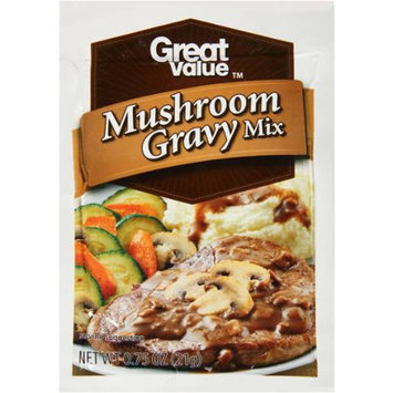 Great Value: Mushroom Gravy Mix, 0.75 oz