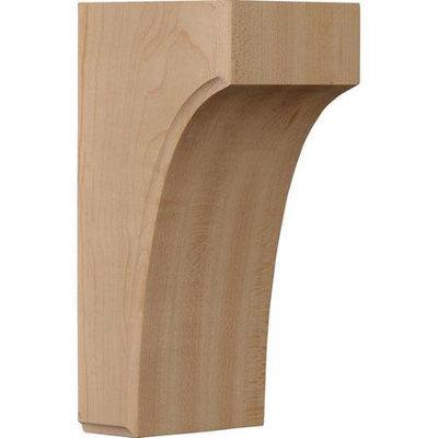 Ekena Millwork 3.5-in x 8-in Red Oak Clarksville Wood Corbel