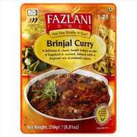 Fazlani 8.81 oz. Ready To Eat Brinjal Curry - Case Of 12
