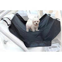 OxGord Pet Hammock for Car, Van, and SUV Seats, Side Walls, Black
