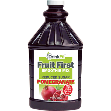DrinkFit Pomegranate Smoothie Mix 1/2 Gallon