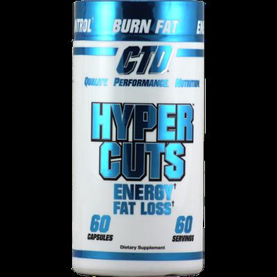CTD Hypercuts Chrome - 60 Capsules