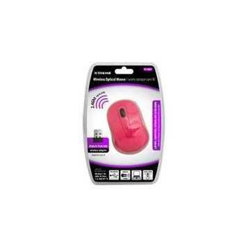 XTREME PINK WIRELESS OPTICAL MOUSE HEC0MLHA8-1610