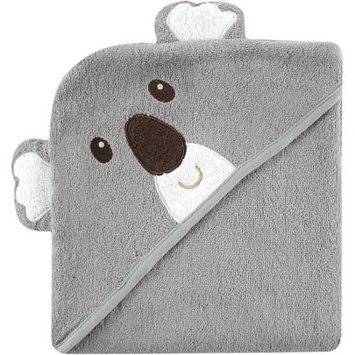 Baby Vision Luvable Friends Animal Face Hooded Terry Towel - Koala