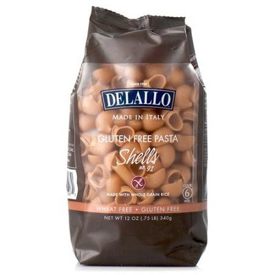 Delallo Gluten Free Pasta Shells No. 91 - 12 oz