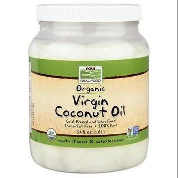 Now Foods, Organic Coconut Oil Virgin 54 fl oz