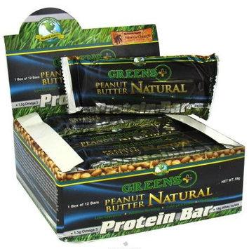 Greens Plus - Protein Bar Natural Peanut Butter - 2 oz.