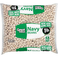 Great Value: Navy Beans, 16 Oz