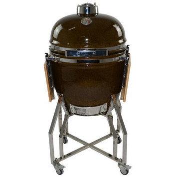 All Pro KAMADO 19 Charcoal Grill, Garden Green