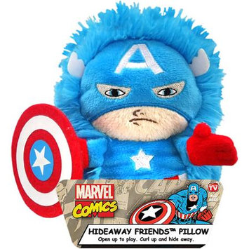 Jay At Play Marvel 5 Inch HideAway Pet - Captain America