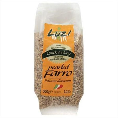 Luzi 500 Gm. Grain Farro Pearled - Case Of 12