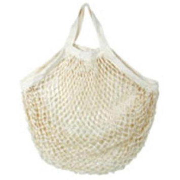 Eco Bags Organic Cotton Tote Handle String Bag Natural, Natural 1 Bag
