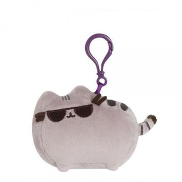 Enesco Pusheen the Cat with Sunglasses Clip-On Backpack Plush
