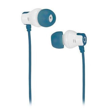 Memorex CB25 Comfort and Style Earbuds, Teal