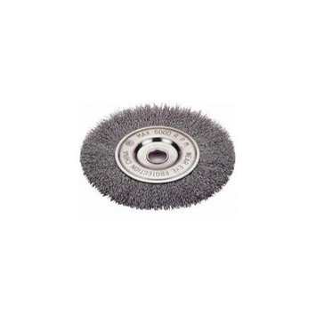 Firepower FPW1423-2123 Wire Wheel Brush - Crimped Type - 8 Inch