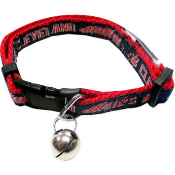 Pets First MLB Cleveland Indians Cat Collar