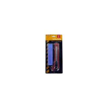Bulk Buys Utility knife with blades Case Of 24