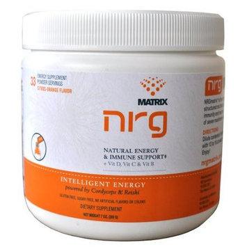 NRG Matrix - Natural Energy & Immune Support Powder Drink Citrus-Orange - 7 oz.