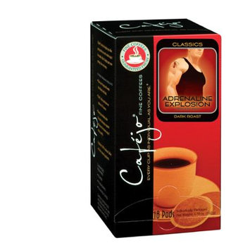 Cafejo CBS1029 Adrenaline Explosion Coffee Pods 72-Pack