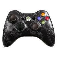 Microsoft Corp. Microsoft XiS2ZHC Custom Xbox 360 Controller Silver Zombie Hazard