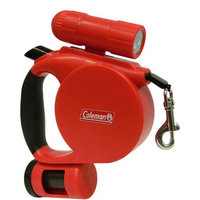 Coleman 3-in-1 Pet Retractable Leash with Flashlight