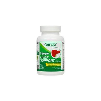 Deva Nutrition - Liver Support Vegan 675 mg. - 90 Tablets