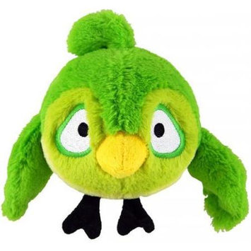 Commonwealth Toy Angry Birds 8 inch Rio Plush with Sound - Green