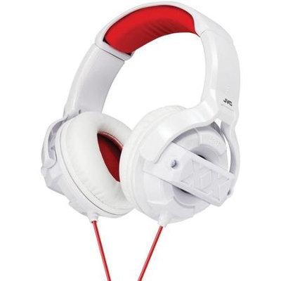 JVC Xtreme Xplosives Around-Ear Headphones - White