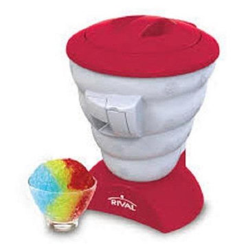 Rival FRRVISBZ-RED2 Frozen Delights Snow Cone Maker Red