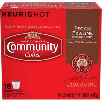 Community Coffee for Keurig(R) K-Cup(R) Brewers - Pecan Praline - 18ct Box