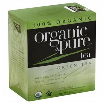 Organic & Pure Organic And Pure Green Tea 40-count (pack Of 6)