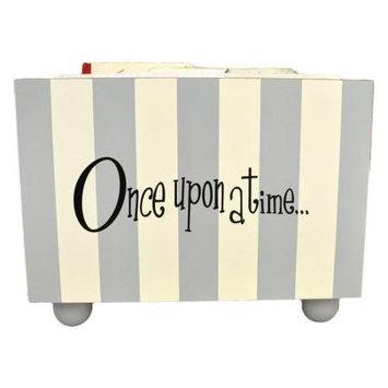 New Arrivals Inc. New Arrivals Grey Stripe Bookholder