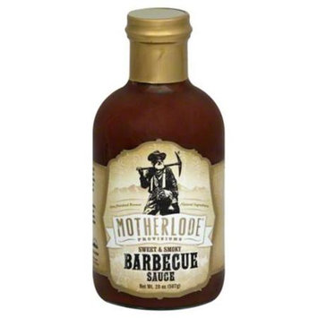 Motherlode Provisions Sauce Bar-B-Q Sweet Smoky 20 Oz Pack Of 6